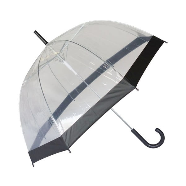 Transparentný dáždnik Susino Noir Transparent
