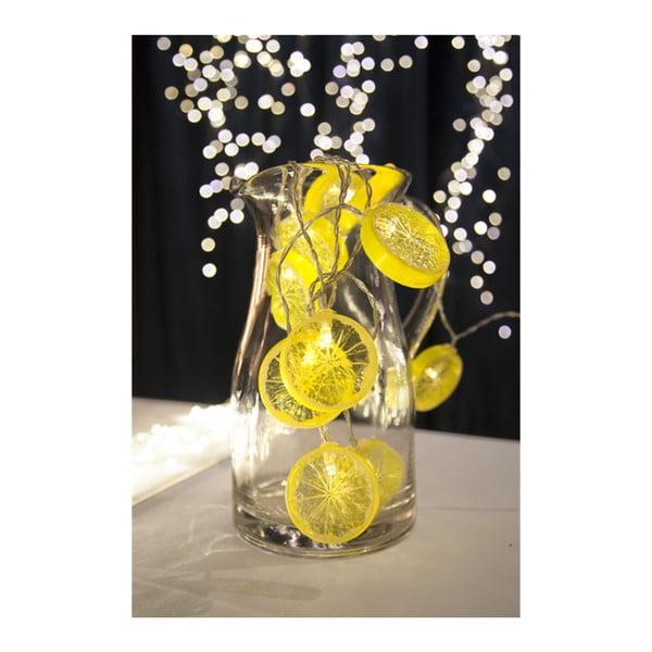 Svetelná LED reťaz Best Season Fruity Lemons, 10 svetielok