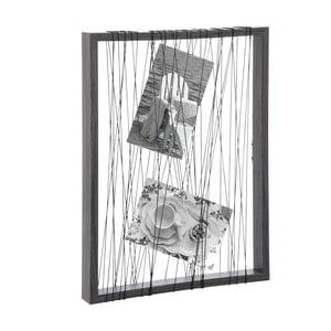 Povrázkový stojan na fotky Rope Frame, 32x24cm