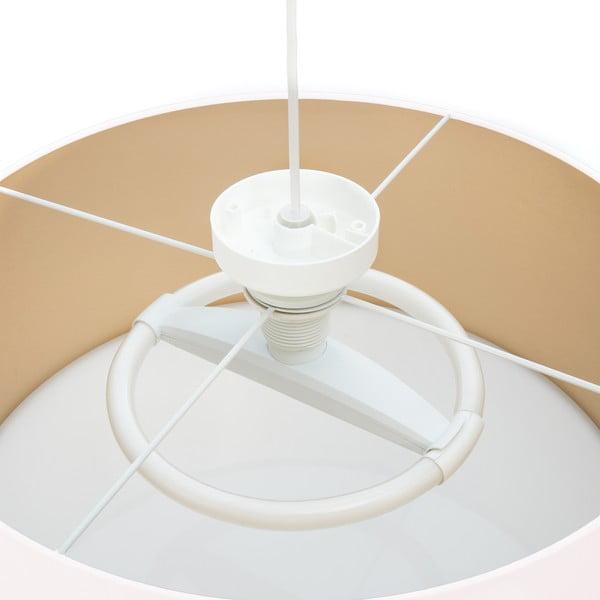 Stropné svietidlo Gold Inside White