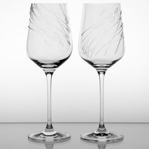 Ateliér Žampach, set 2 ks pohárov na červené víno Áron