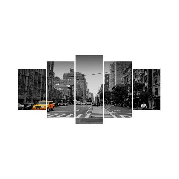 Viacdielny obraz Black&White no. 75, 100x50 cm