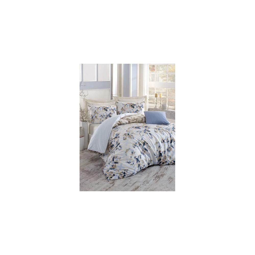 Bavlnené obliečky na dvojlôžko s plachtou Pastella, 200 × 220 cm