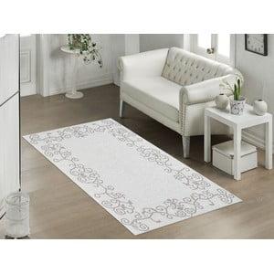 Béžový odolný koberec Vitaus Orchidea, 60x90cm