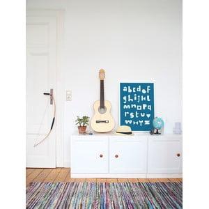 Plagát SNUG.ABC, 50x70 cm, modrý