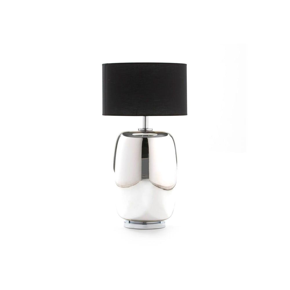 Strieborná stolová lampa bez tienidla Thai Natura Sophi