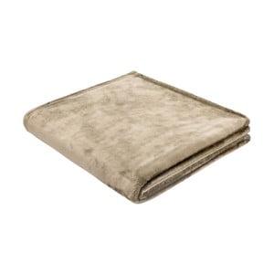Prikrývka Biederlack Uni Sand, 200 x 150 cm