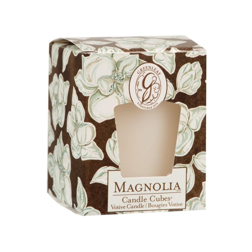 Sviečka s vôňou magnólie Greenleaf Magnolia, doba horenia 15 hodín