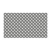 Vinylový koberec Maham Grey, 52x100 cm