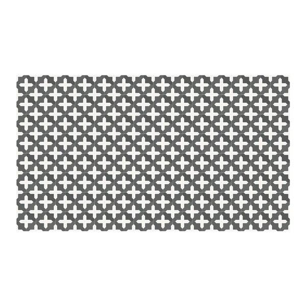 Vinylový koberec Maham Grey, 52x140 cm