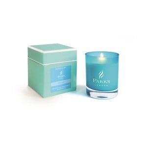 Sviečka s vôňou hyacintov Parks Candles London Moods Turquoise, 50 hodín horenia