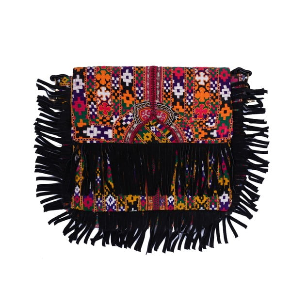 Ručne šitá taška Bolso Banjara Flecos