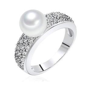 Prsteň s perlou Nova Pearls Copenhagen Elisabeth, veľ. 52