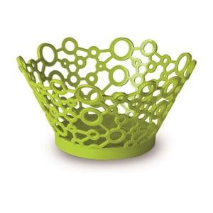 Zelený okrúhly košík ForMe