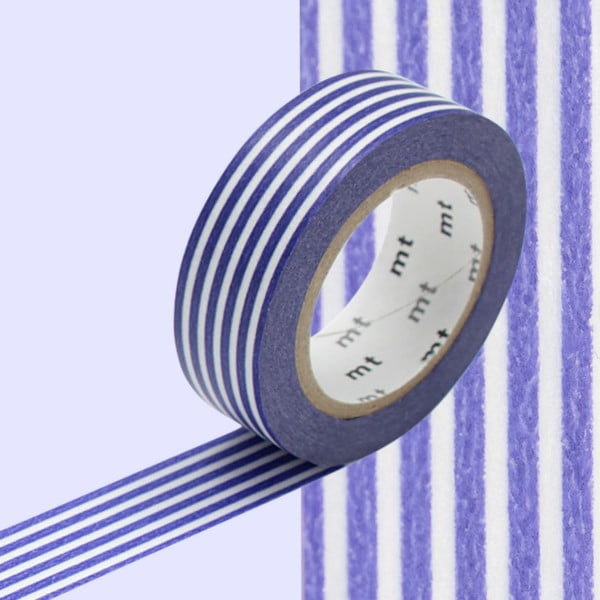 Washi páska Border Deep Blue