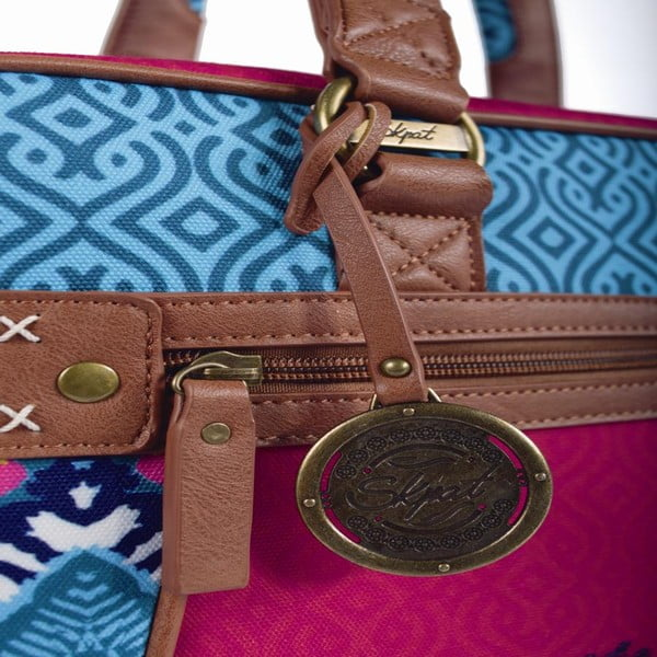Pestrofarebná kabelka SKPA-T, 38 x 29 cm