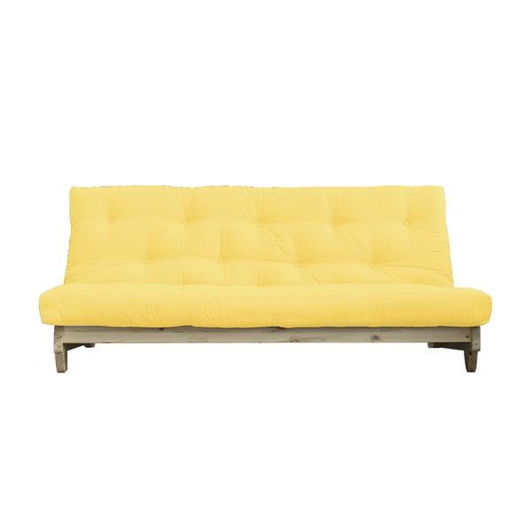 Rozkladacia pohovka Karup Design Fresh Natural/Yellow