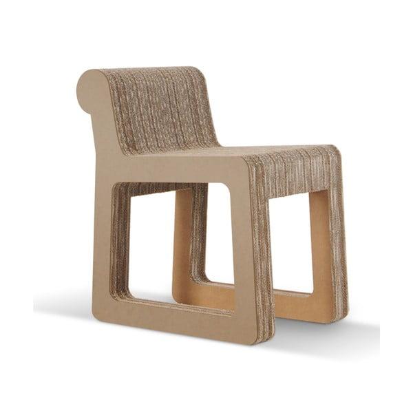 Kartónová stolička Knob Natural