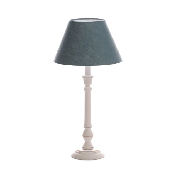 Stolná lampa Laura Light Blue/Washed White, 51 cm