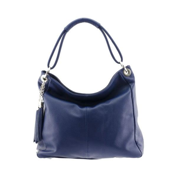 Kožená kabelka Markese 5008 Blue