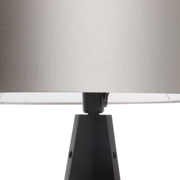 Stojacia lampa Artista Black/Silver, 125x42 cm