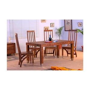 Jedálenský stôl z palisandrového dreva SOB Margao, 140 x 80 cm