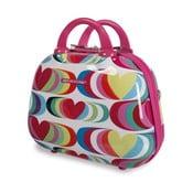 Kozmetická cestovná taška Agatha, fuksiová