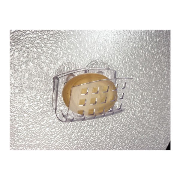 Stojan na mydlo  s prísavkou InterDesign Soap Cradle