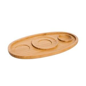 Bambusový servírovací tanier Bambum Ra