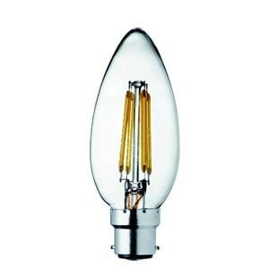 Sada 10 ks LED žiaroviek B22