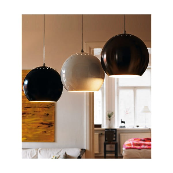 Stropná lampa Elba 20 cm, aluminium