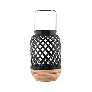 Čierny bambusový lampáš House Doctor Breeze