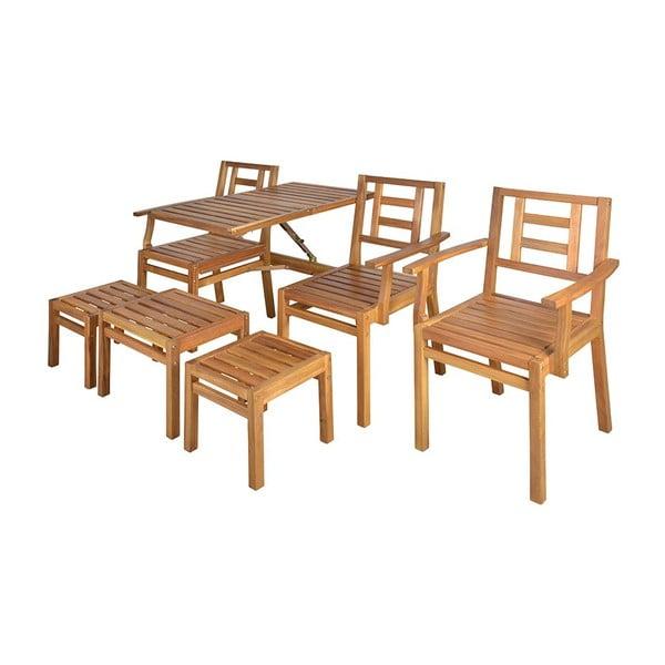 Súprava dreveného nábytku Seattle