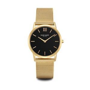Dámske hodinky v zlatej farbe s čiernym ciferníkom Eastside Upper Union