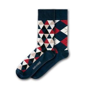 Sada 2 párov unisex ponožiek Black&Parker London Christ's College, veľkosť 37 - 43