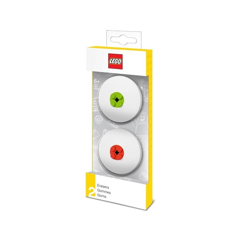 Sada zelenej a červenej gumy LEGO®