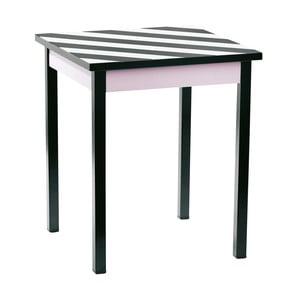 Odkladací stolík Miss Étoile Stripes,45cm