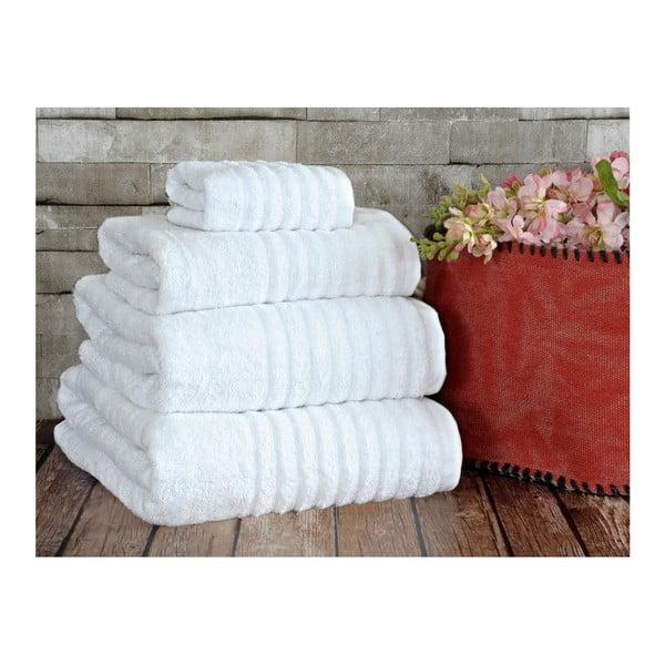 Biely uterák Irya Home Wellas Bamboo, 50x90 cm