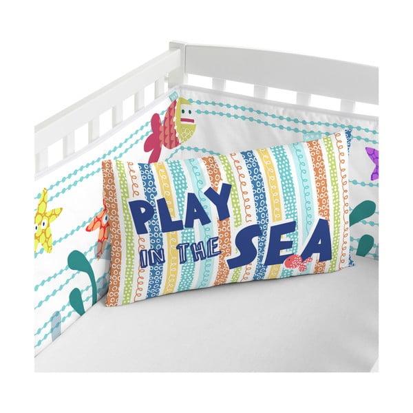 Výstelka do postele Sea Life, 70x70x70 cm
