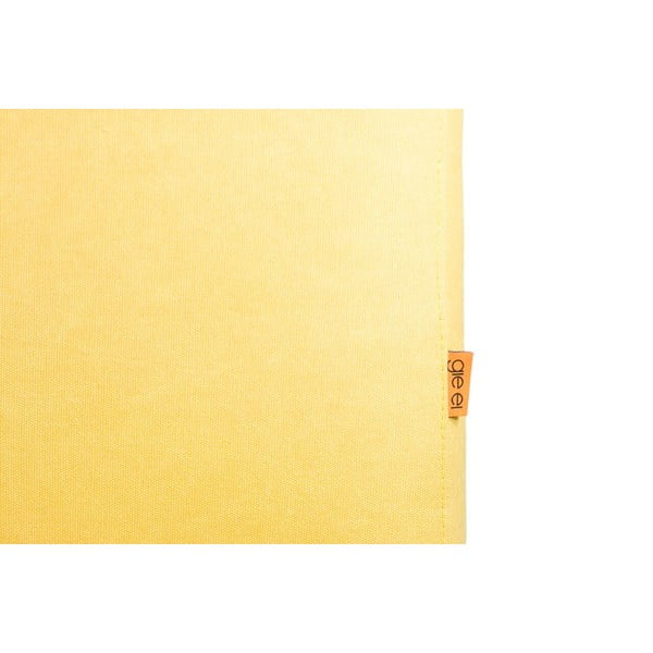 Stolička Gie El, žltá