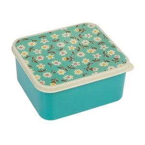 Modrý desiatový box Rex London Daisy