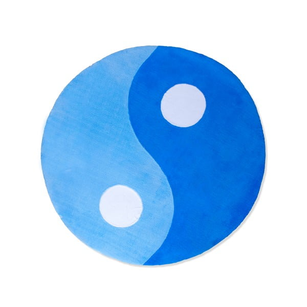 Detský koberec Beybis Blue Jing Jang, 150 cm