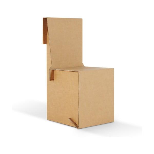 Kartónová stolička King Natural
