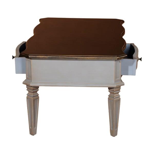 Konferenčný stolík Belgique Grey, 120x80 cm