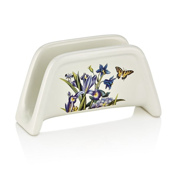 Porcelánový stojan na servítky Motýlikovia