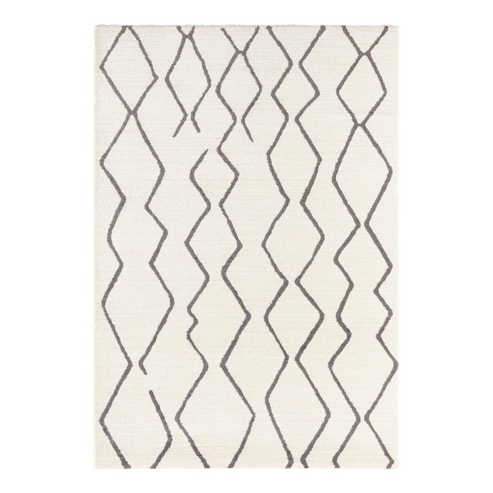 Krémovobiely koberec Elle Decor Glow Vienne, 80 x 150 cm