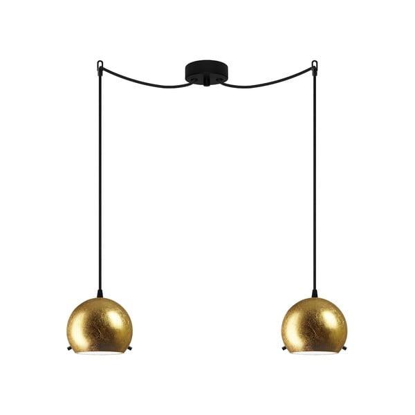 Dvojité svetlo MYOO Elementary, gold/black/black