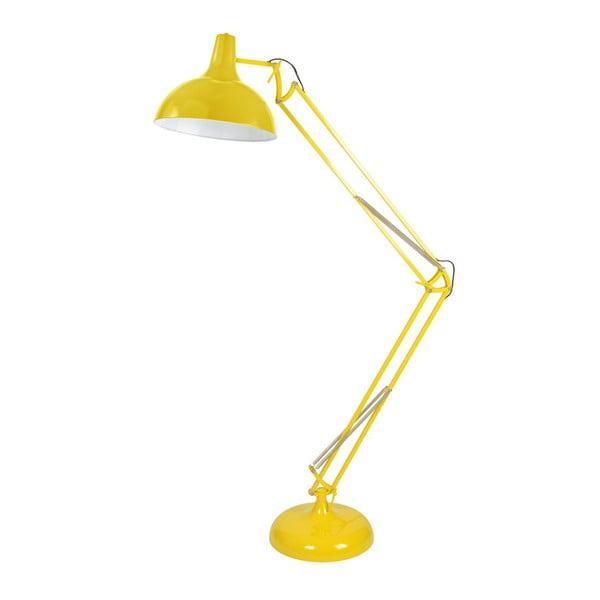 Stojacie svetlo XXL, žlté