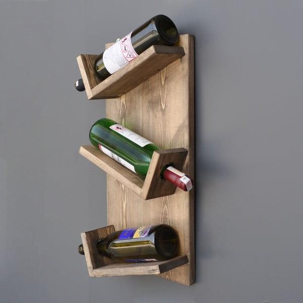 Ručne vyrábaná nástenná vinotéka Sandra