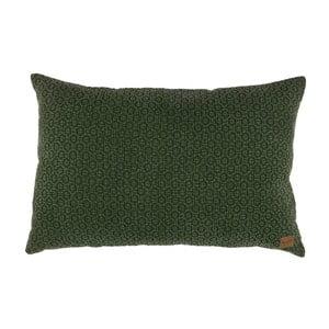 Zelený bavlnený vankúš De Eekhoorn Flatter, 40×60cm